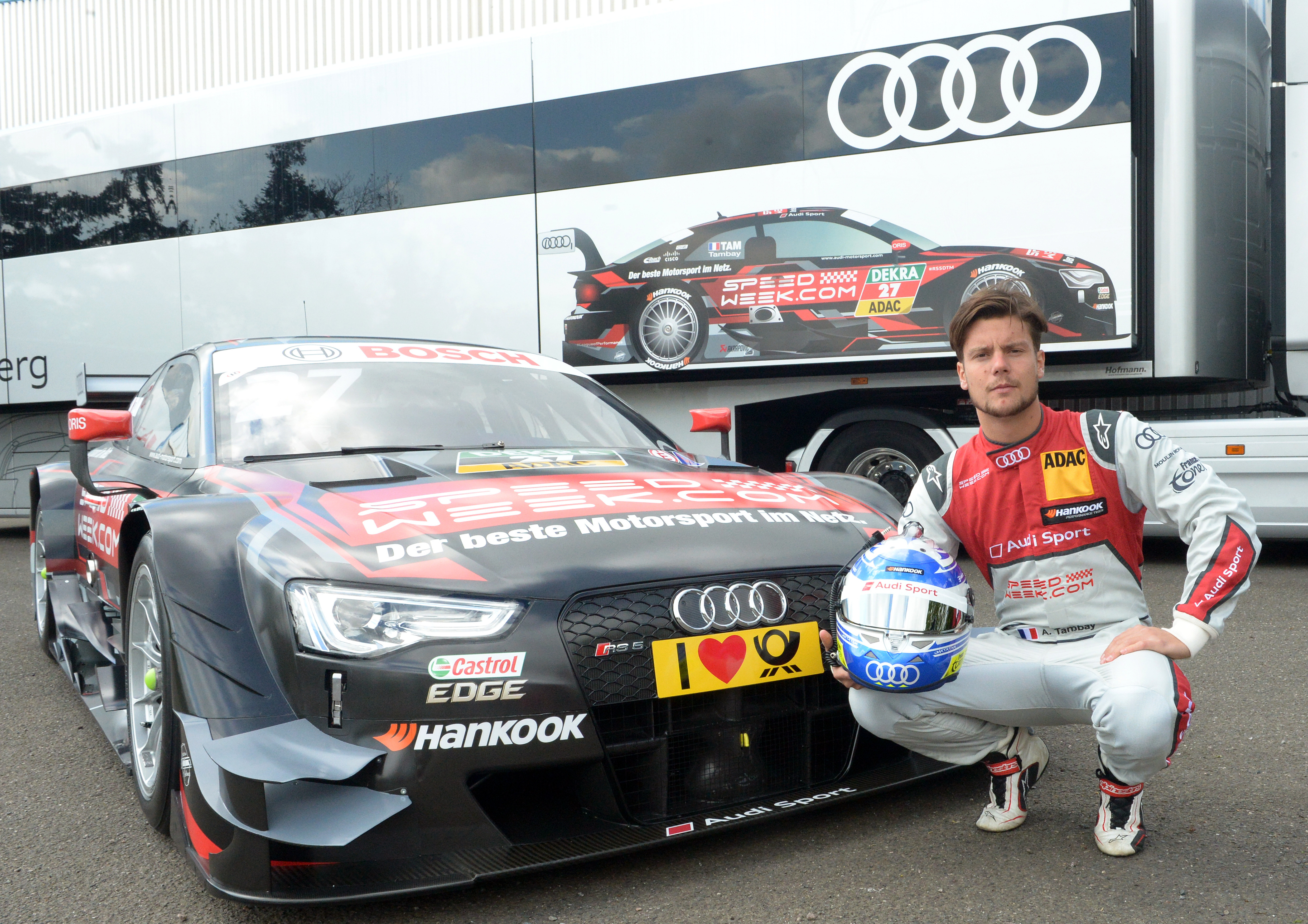 #27 Adrien Tambay Speedweek.com Audi RS5 DTM