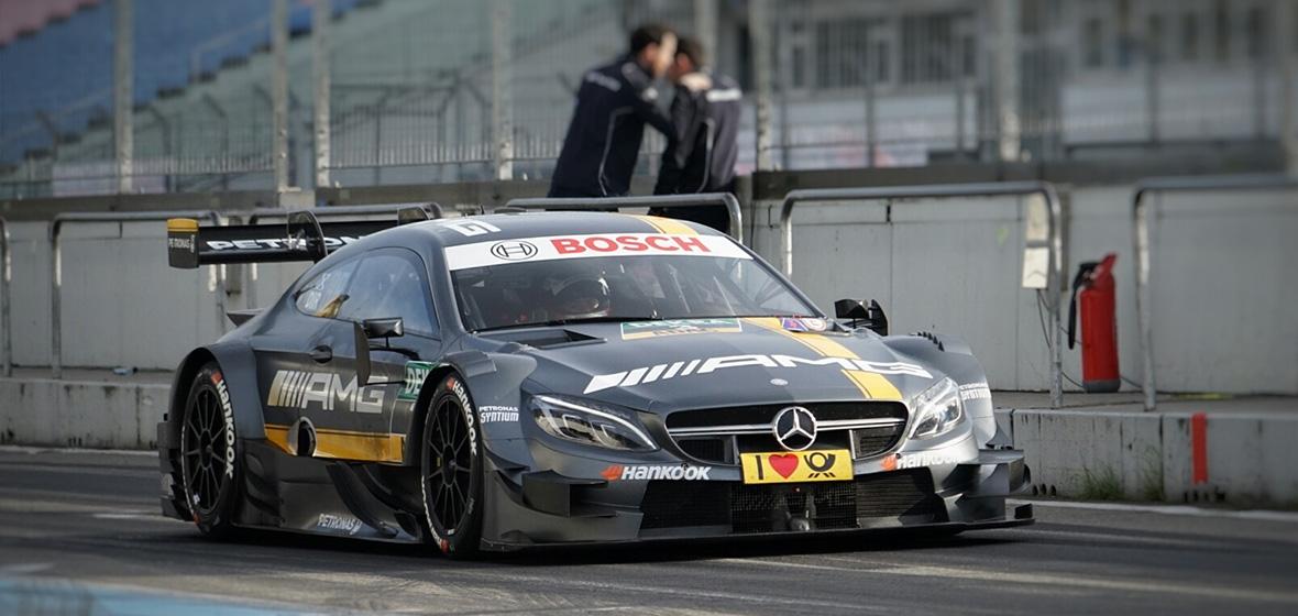 #3 Paul Di Resta Mercedes-AMG
