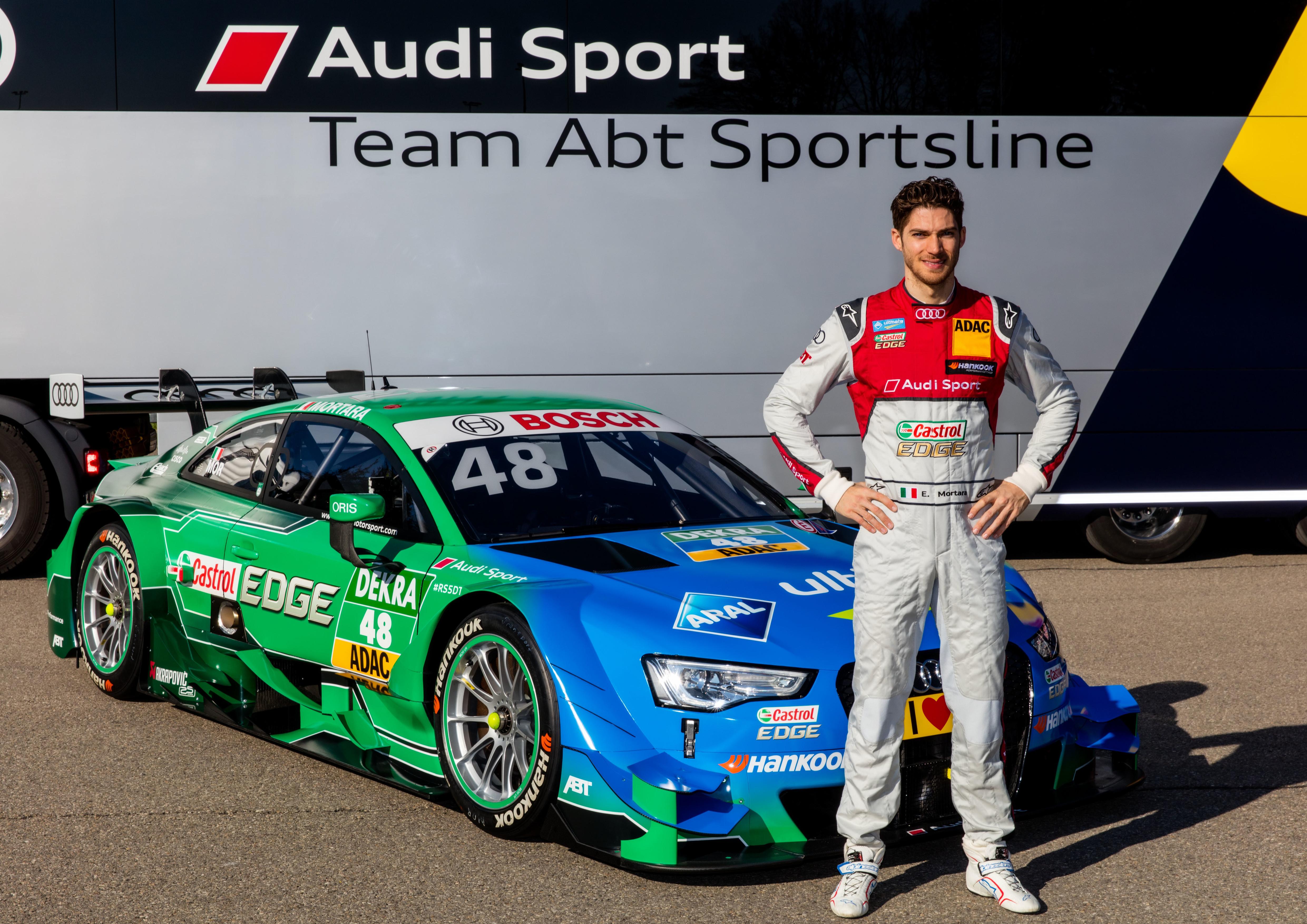 #48 Edoardo Mortara Castrol EDGE Audi RS5 DTM