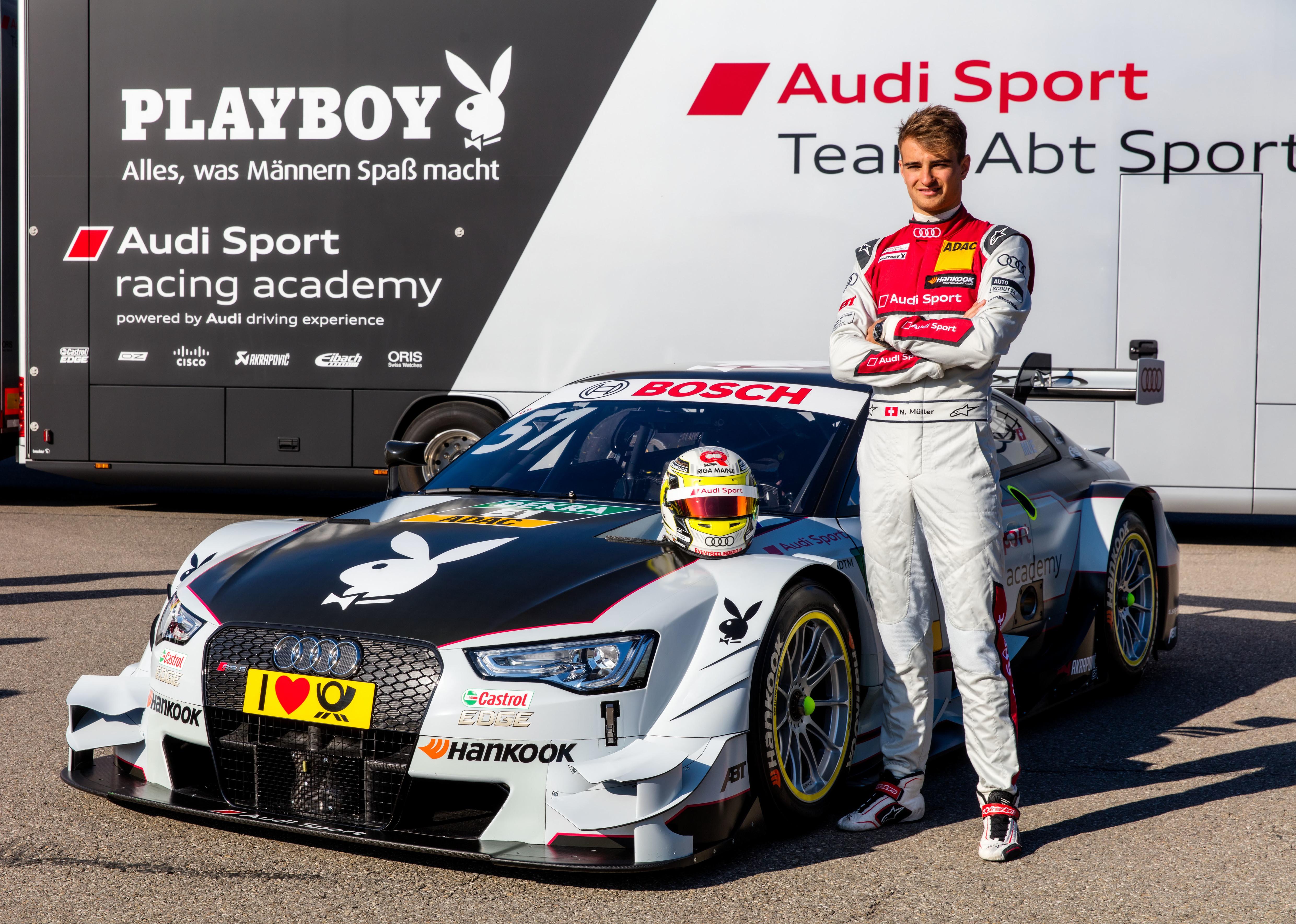 #51 Nico Müller Playboy Audi RS5 DTM