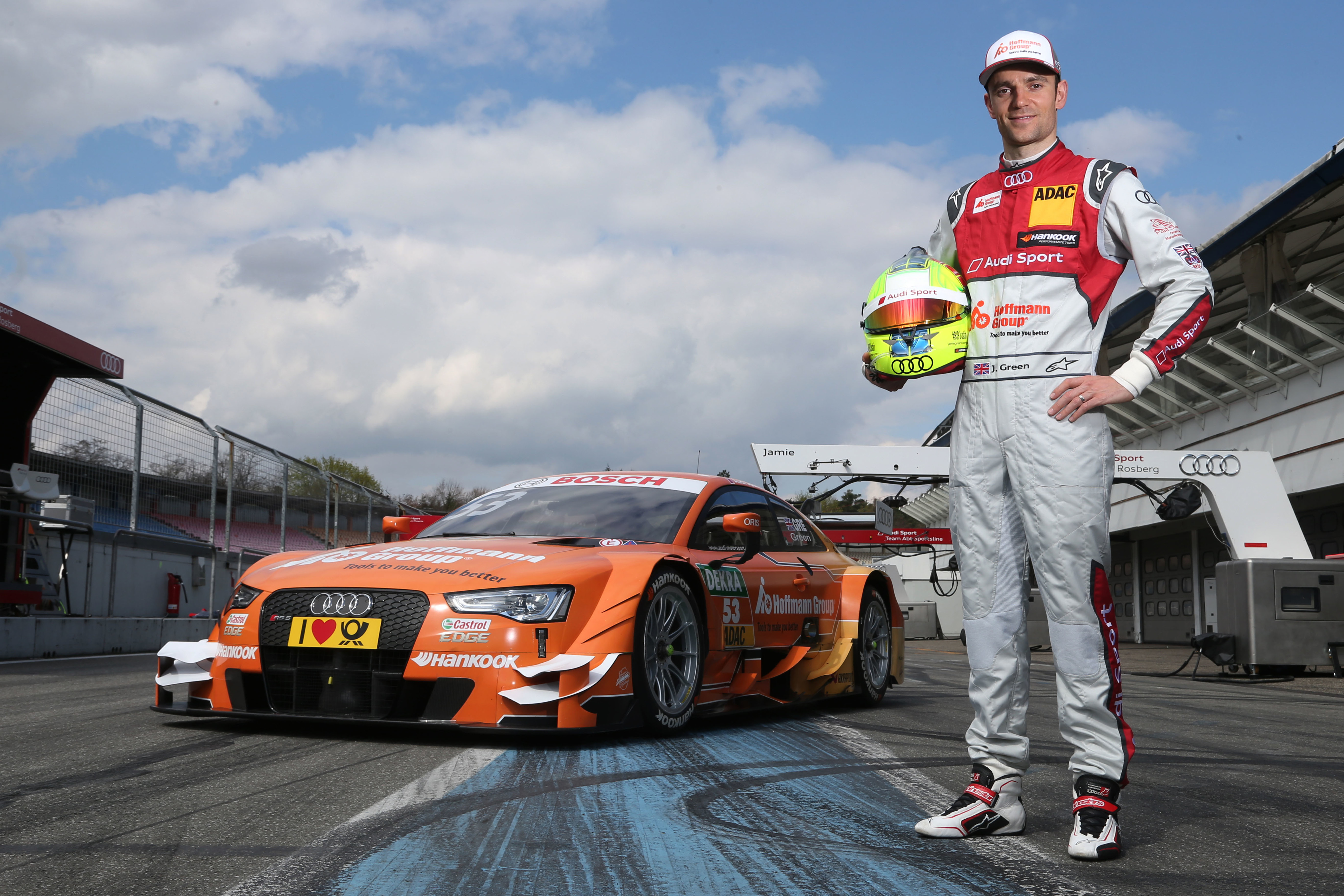 #53 Jamie Green Hoffmann Group Audi RS5 DTM