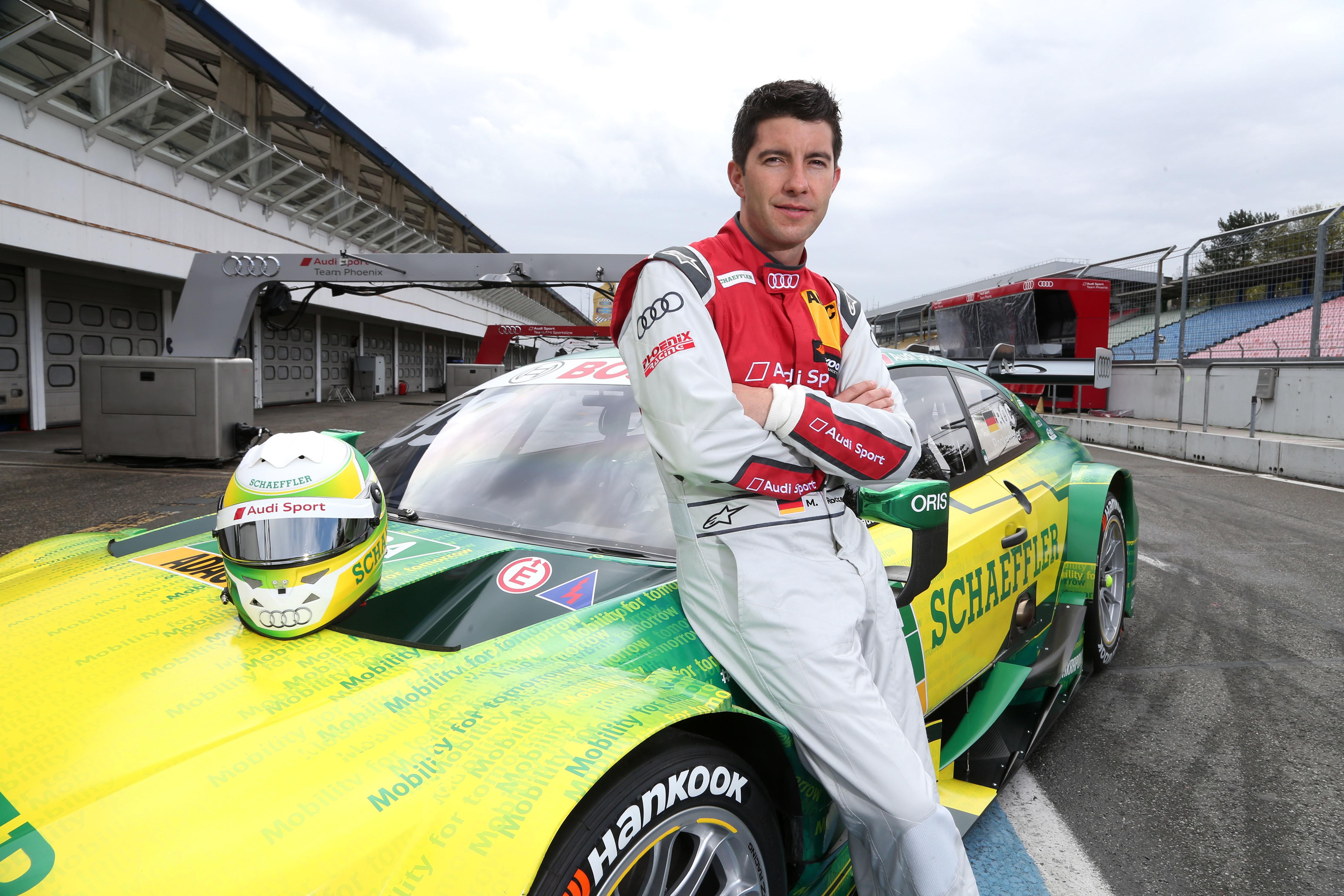 #99 Mike Rockenfeller Schaeffler Audi RS5 DTM