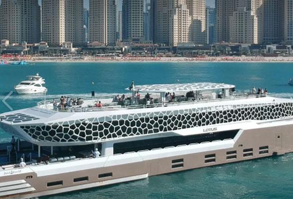 Yacht brunch