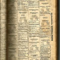 vidéki telefonkönyv, 1941.