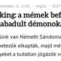 Miammá Németh lelkész körül?