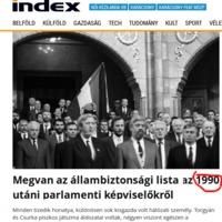 Nesze semmi, index geci
