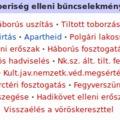 Emberiség elleni bűntett