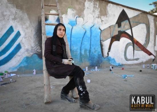 AfgánGrafittis lány.jpg