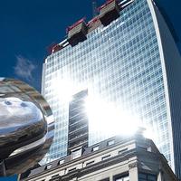 Autókat olvaszt az új londoni felhőkarcoló