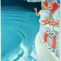A Dunakanyar közlekedési plakátjai - 1930-1950