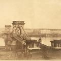 1860-as hajóutazás a Dunán Budától Esztergomig