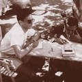 Karinthy Cini, Devecseri Gábor és barátaik Nógrádverőcén