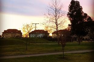 A Nagy Vihar előtti naplemente