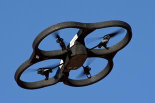 Dróneregetés Dunakeszin
