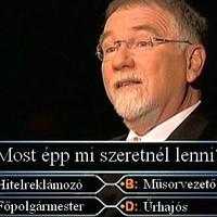 Tízmilliós kérdés Vágó Istvánnak