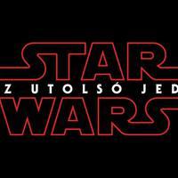 A Star Wars VIII. részének magyar címe és logója