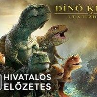 Dínó király - Út a tűzhegyre (Dino King: Journey to Fire Mountain) - magyar előzetes