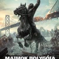 A majmok bolygója - Forradalom (Dawn of the Planet of the Apes) - a magyar hangok