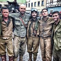 Fury - képek a forgatásról