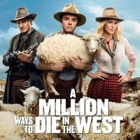 Hogyan rohanj a veszTEDbe (A Million Ways to Die in the West) - plakát