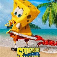 SpongyaBob: Ki a vízből! (The SpongeBob Movie: Sponge Out Of Water) - magyar plakát