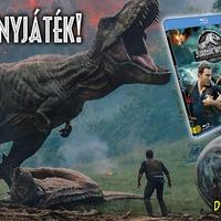 Szülinapi nyereményjáték: vidd haza a Jurassic World: Bukott birodalom c. filmet!