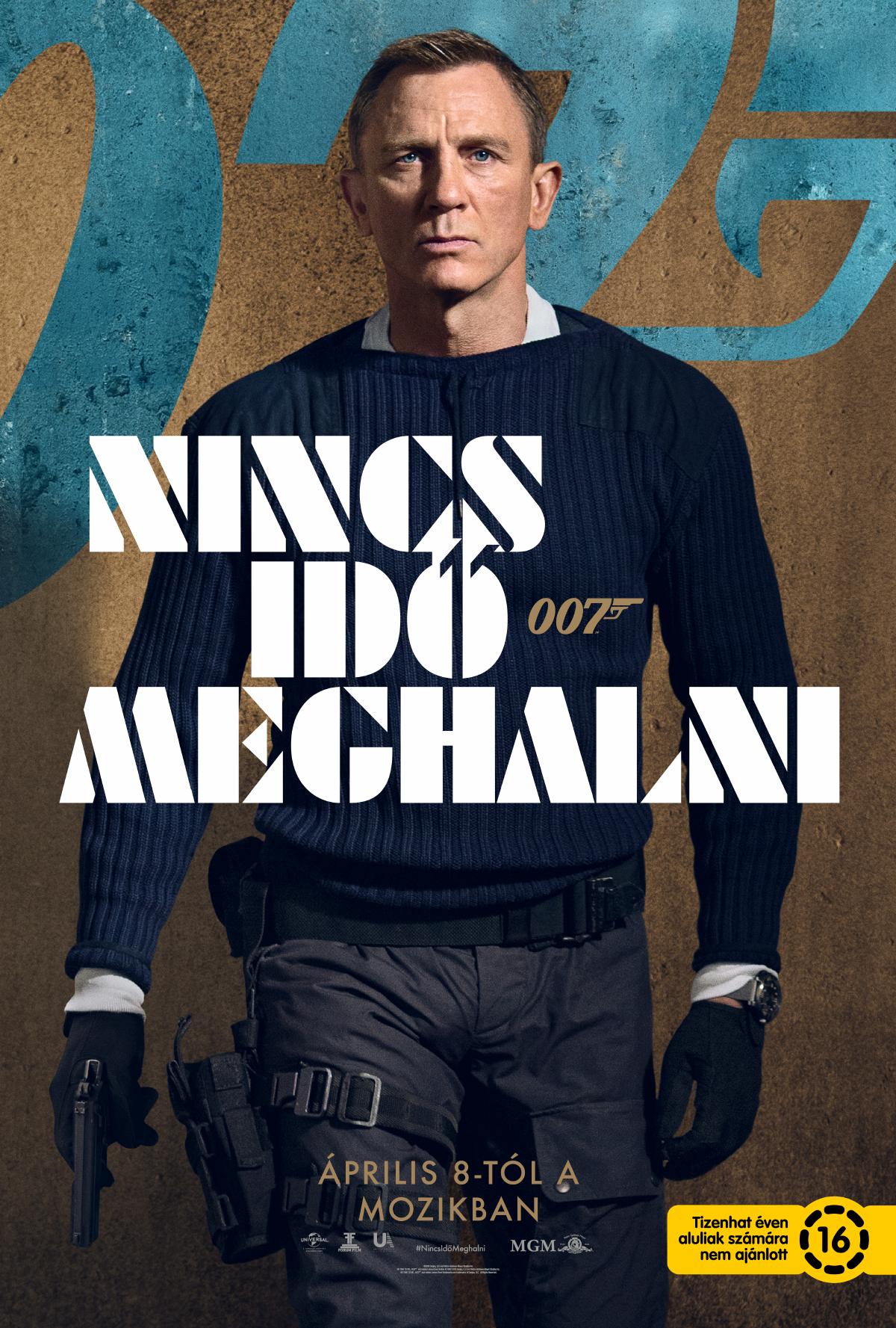 007 Nincs idő meghalni (No Time to Die) - magyar előzetes +  karakterplakátok - DVDNEWS
