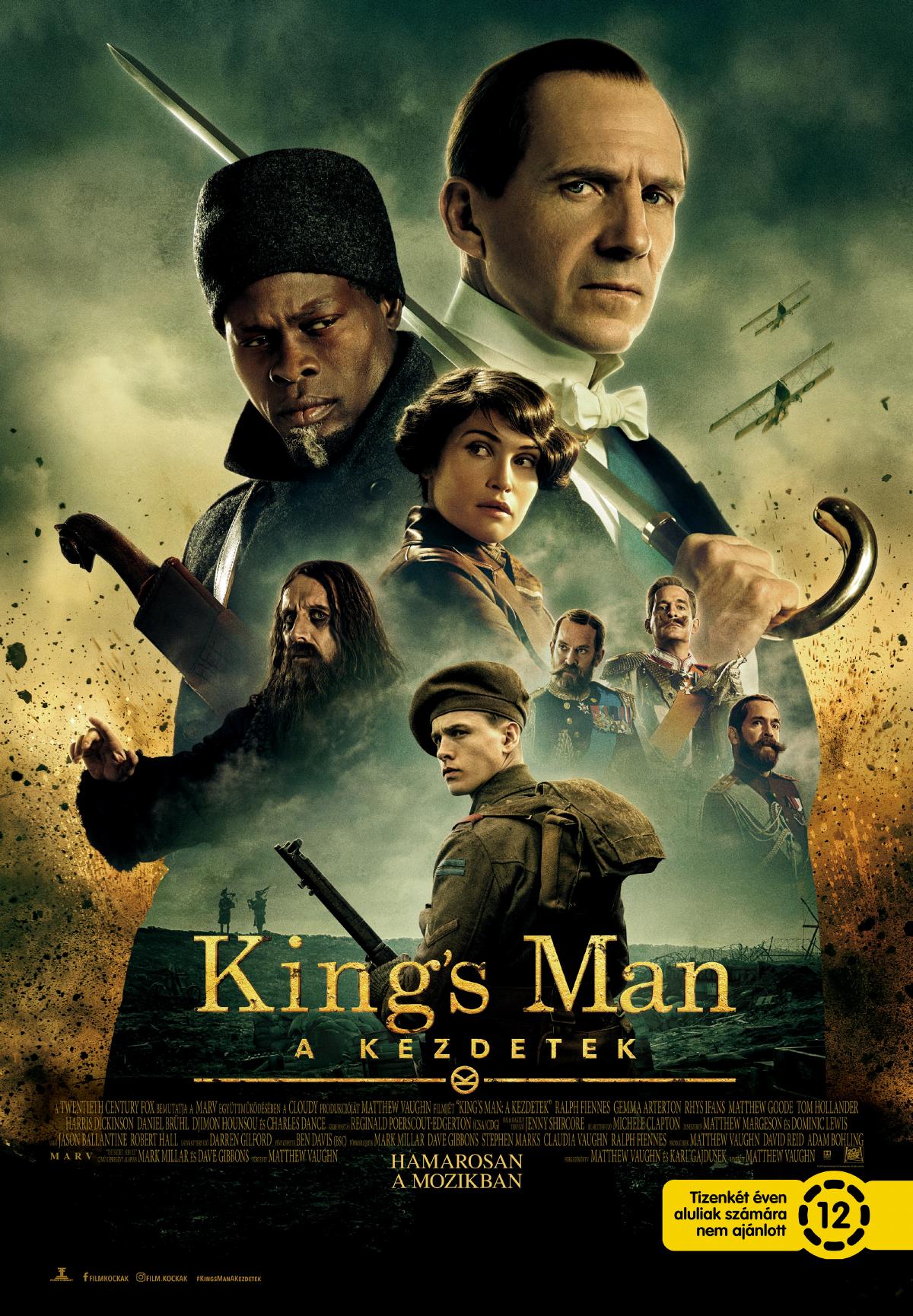 King's Man: A kezdetek (The King's Man) - 2. magyar előzetes + plakátok -  DVDNEWS