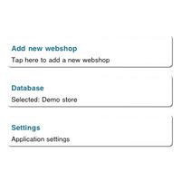 Magento és Joomla Webáruházak adminisztrációja iPhone-on!
