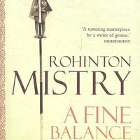 Rohinton Mistry: India, India - A Fine Balance