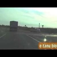 Őrült kamionos Kecskemétnél