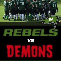 REBELS vs DEMONS Amerikai foci mérkőzés