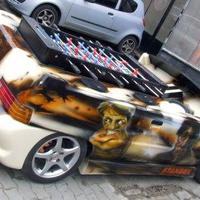 A csocso autó a Vaterán