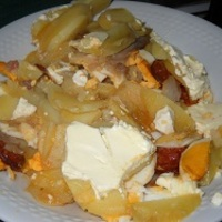 Turbó rakott krumpli