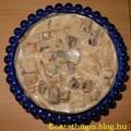 Majonézes-gombás ruszlisaláta