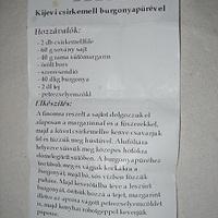 Tesco gazdaságos pucér kijevi csirkemell