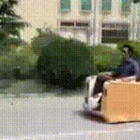 Kínában fotelt is vezethetsz