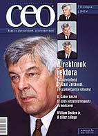 CEO magazin címlapja: dr. Gaál Zoltán, a rektorok rektora