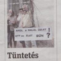 Metropol cikke a szombati tüntetésről