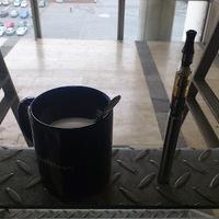 Kávé és ecigaretta