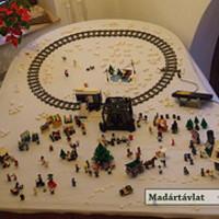 LEGO karácsonyi vásár