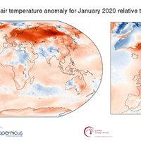 Tovább folytatódik a felmelegedés: rekord forró január