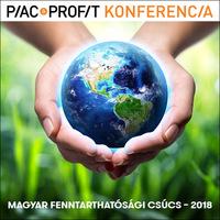 Magyar Fenntarthatósági Csúcs – 2018