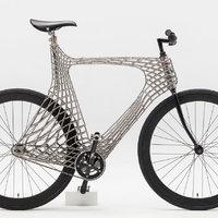 3D-nyomtatott fém dizájnkerékpár