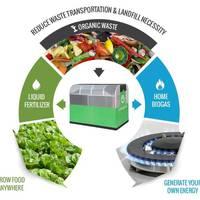 Biogáz és műtrágya otthoni hulladékból