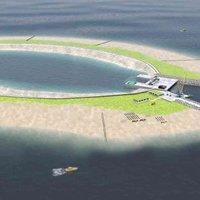 Mesterséges energia sziget az Északi-tenger közepén