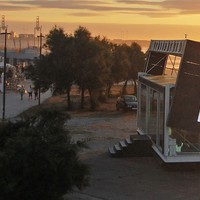 Forgó ház, mely hatékonyan hasznosítja a napenergiát