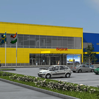 IKEA Soroksár: üvegházzal, napelemmel, geotermikus energiával