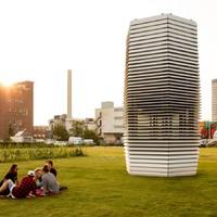 Itt világ legnagyobb városi légtisztítója!