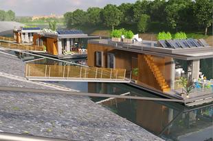 Úszóházak a Dunán?